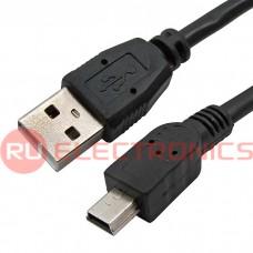 Компьютерный шнур RUICHI, Mini USB-USB-A(m), 1.8 м