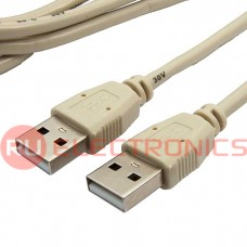 Кабель компьютерный USB соединительный SZC USB-A(m)-USB-A(m), 1.8 м