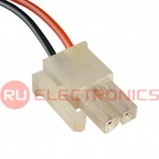 Межплатный кабель питания RUICHI MF-2x1F, AWG20, 0,3 м