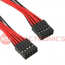Межплатный кабель питания RUICHI BLD 2x05*2, AWG26, 0.3 м