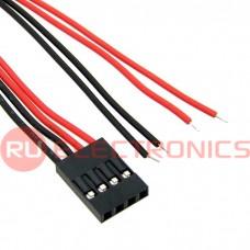 Межплатный кабель питания RUICHI BLS-4, AWG26, 0.3 м