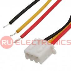 Межплатный кабель питания RUICHI, серия 1007, AWG26, 2.54 мм, C3-03, RYB