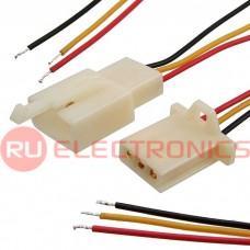 Межплатный кабель питания RUICHI, серия 1008, AWG24, 3x2.8 5 мм, 0.3 м, RBY