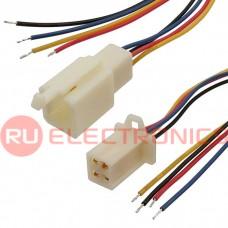 Межплатный кабель питания RUICHI, серия 1009, AWG24, 4x2.8 5 мм, 0.3 м, RBYB