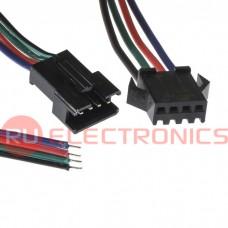 Межплатный кабель питания RUICHI SM коннектор, 4P*150 мм, F/M