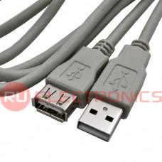Компьютерный шнур SZC USB-AF-USB-A(m), 1.8 м