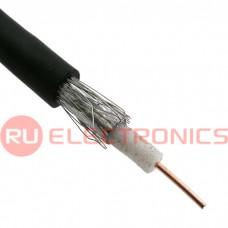 Коаксиальный кабель RG-58 RUICHI, 100 м, черный