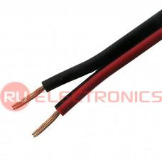 Акустический кабель RUICHI, 2x0.35, CU+CCA, красно-чёрный