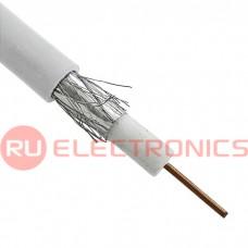 Коаксиальный кабель RG-6U RUICHI, 100 м, белый