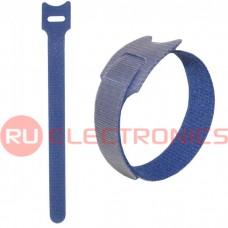 Хомут-липучка RUICHI 150х12 мм, синий (100 шт.)
