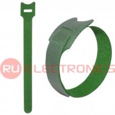 Хомут-липучка RUICHI 150х12 мм, зелёный (100 шт.)