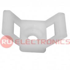 Фиксатор для кабеля RUICHI STM-3W, белый