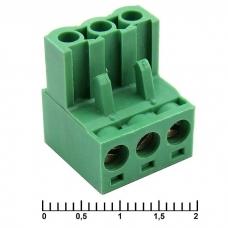 Клеммник разрывной SZC XY2500F-A-03P (2EDGK-03P), 5 мм