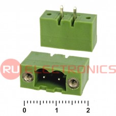 Клеммник разрывной RUICHI XY2500V-BS-2, 5.0 мм