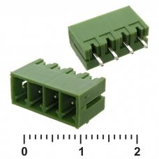Клеммник разрывной SZC XY2500V-E-4, 3.81 мм