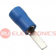 Клемма ножевая изолированная RUICHI DBV2-10, синяя