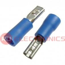 Клемма ножевая изолированная RUICHI FDD 2-110(5), синяя