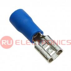 Клемма ножевая изолированная RUICHI FDD2-187, синяя