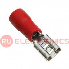 Клемма ножевая изолированная RUICHI FDD2-187, красная