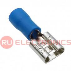 Клемма ножевая изолированная RUICHI FDD2-250, синяя