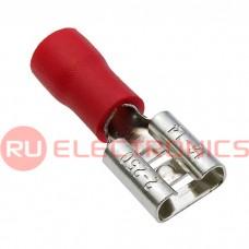 Клемма ножевая изолированная RUICHI FDD2-250, красная