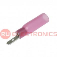 Клемма ножевая изолированная RUICHI MDD1.25-110(8) HST, красная