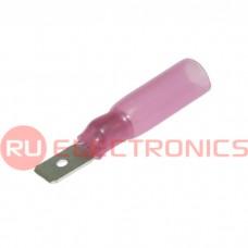 Клемма ножевая изолированная RUICHI MDD1.25-187(5) HST, красная