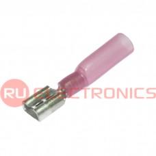 Клемма ножевая изолированная RUICHI FDD1.25-250 HST, красная