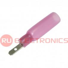 Клемма ножевая изолированная RUICHI MDD1.25-110(5) HST, красная