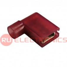 Клемма флажковая изолированная RUICHI BNYF-1.25, красная
