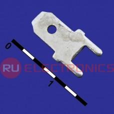 Клемма ножевая на плату RUICHI DJ610A-4.8