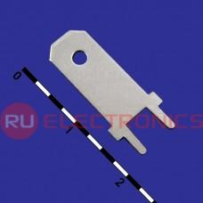 Клемма ножевая на плату RUICHI DJ614-6.3
