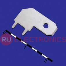 Клемма ножевая на плату RUICHI DJ617-6.3 (TA-MR1)