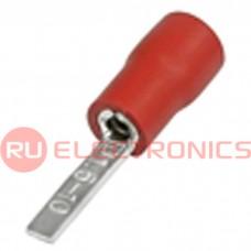 Клемма ножевая изолированная RUICHI DBV1.5-10