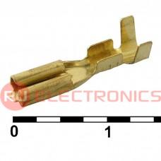 Клемма ножевая неизолированная RUICHI DJ622-D2.8A