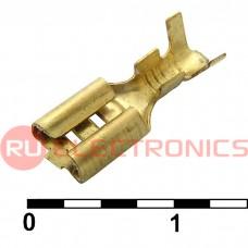 Клемма ножевая неизолированная RUICHI DJ622-D4.8A