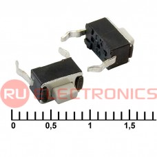 Тактовая кнопка RUICHI IT-0350, 6x3x5 мм