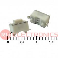 Тактовая кнопка RUICHI IT-1101NE-E, 6x3x4.3 мм