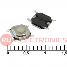 Тактовая кнопка RUICHI IT-1187, 4x4x1.5 мм