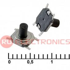 Тактовая кнопка RUICHI IT-1187A, 4x4x4.3 мм