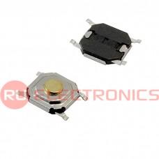 Тактовая кнопка RUICHI IT-1187U, 4x4x1.5 мм