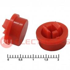 Колпачок для кнопок RUICHI A24, красный