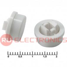 Колпачок для кнопок RUICHI A24, белый