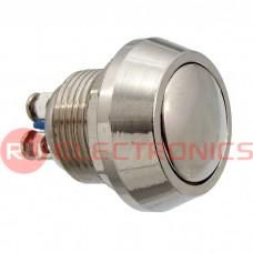 Кнопка антивандальная RUICHI PBS-28B, D-12  мм, стальная