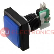 Кнопка GMSI RUICHI 2B-S no-nc+nc-no, синяя, 44 мм