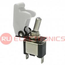 Тумблер RUICHI SAC-01 ASW-07D, LED, белый