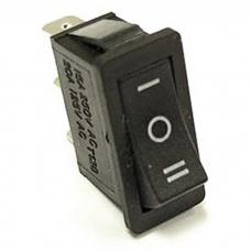 Клавишный переключатель RUICHI RS-103-16C, ON-OFF-ON, черный