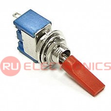 Микротумблер RUICHI MTS-103-E1, ON-OFF-ON, красный колпачок
