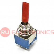 Микротумблер RUICHI MTS-203-E1, ON-OFF-ON, красный колпачок