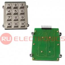 Клавиатура цифровая антивандальная RUICHI RZ01B-CG